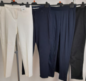 Women's Clothes Bundle 4 Assorted Trousers Size 10