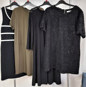 Women's Clothes Bundle 4 Assorted Dresses Size XL
