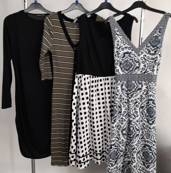 Women's Clothes Bundle 4 Assorted Dresses Size 14