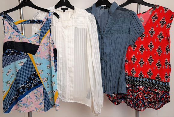 Women's Clothes Bundle 4 Assorted Tops Size 8