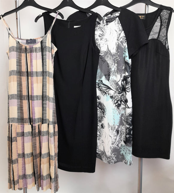Women's Clothes Bundle 4 Assorted Dresses Size 10