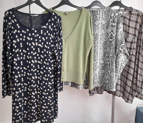 Women's Clothes Bundle 4 Assorted Tops Size 20