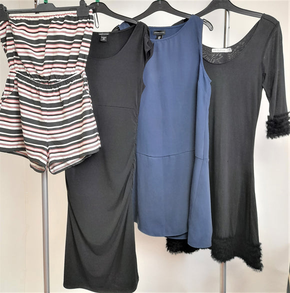 Women's Clothes Bundle 4 Assorted Dresses Size Medium
