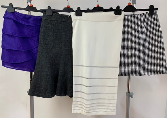 Womens Clothes Bundle - 4 Assorted Skirts - Size 10