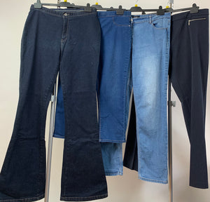 Women's Clothes Bundle 4 Assorted Trousers Size 16