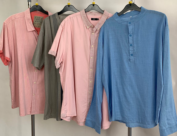 Men's Clothes Bundle 4 Assorted Shirts Size 3XL
