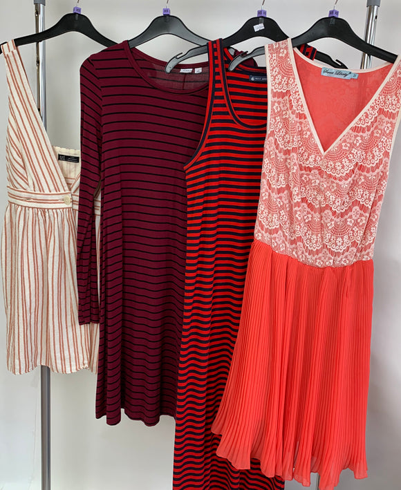 Womens Clothes Bundle 4 Assorted Dresses Size XS