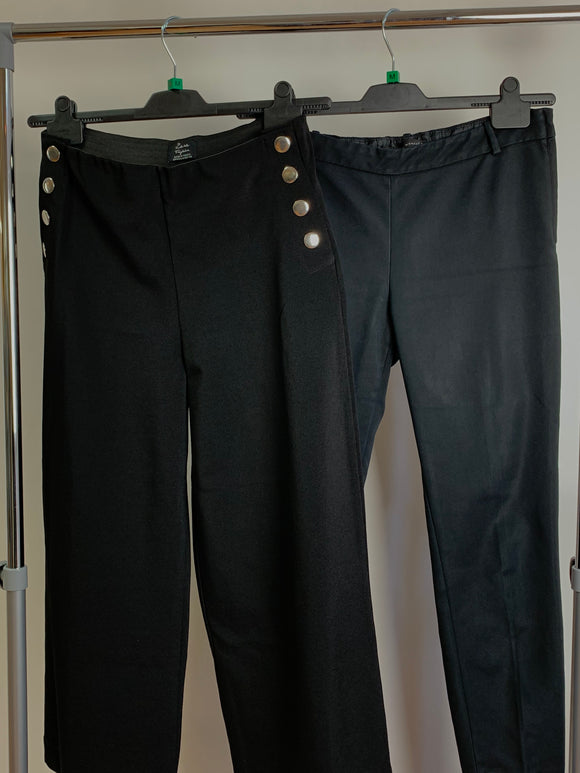 Women's Clothes Bundle 2 Assorted Zara Trousers Size Medium