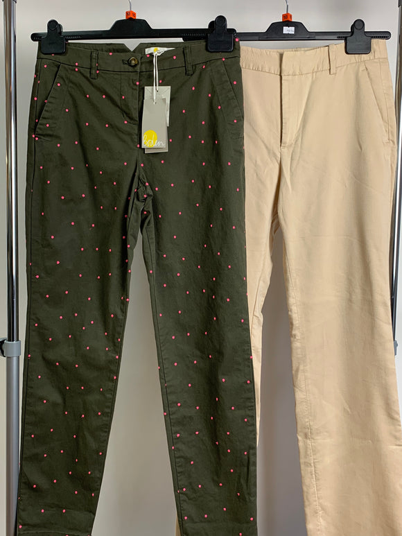 Women's Clothes Bundle Boden and Zara 2 Assorted Trousers Size 10