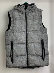 Men's Grey Padded Gilet Size Medium