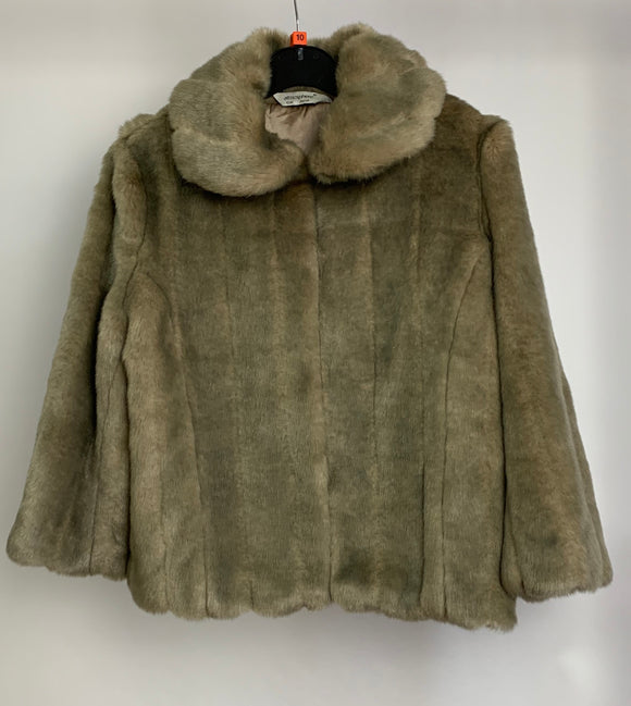 Women's Faux Fur Coat Size 10