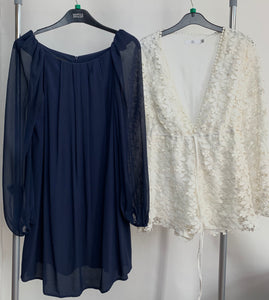 Women's Clothes Bundle Dress and Playsuit Topshop and Missguided Size 12