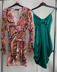 Women's Clothes Bundle 2 Assorted Dresses inc Zara Size Small