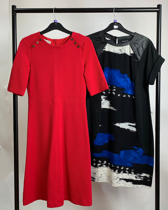 Women's Clothes Bundle Warehouse and Hobbs 2 Dresses Size 8
