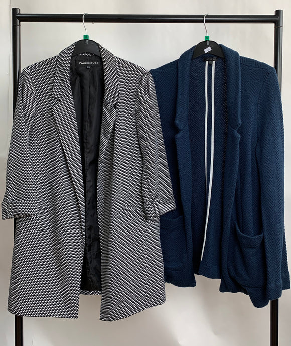 Women's Clothes Bundle 2 Warehouse and Topshop Blazers Size 12