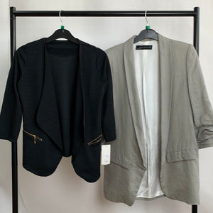 Women's Clothes Bundle 2 Assorted Blazers inc. Zara Size Medium