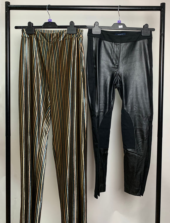Women's Clothes Bundle 2 Trousers Zara and French Connection Size 8