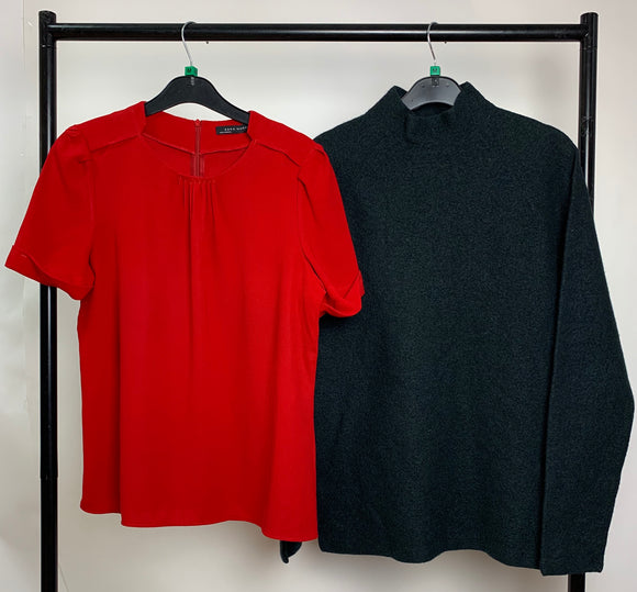 Women's Clothes Bundle 2 Tops COS and Zara Size Medium