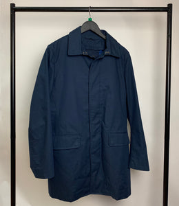 Men's Banana Republic Navy Coat Size Medium