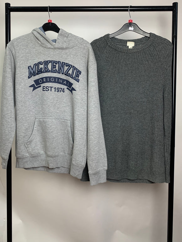 Men's Clothes Bundle 2 Assorted Jumpers inc H&M Size Small