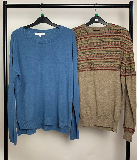 Men's Clothes Bundle 2 Assorted Jumpers inc. Next Size Medium
