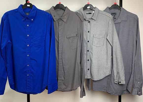 Men's Clothes Bundle 4 Assorted Shirts inc. All Saints, American Eagle, Urban Outfitters Size Small
