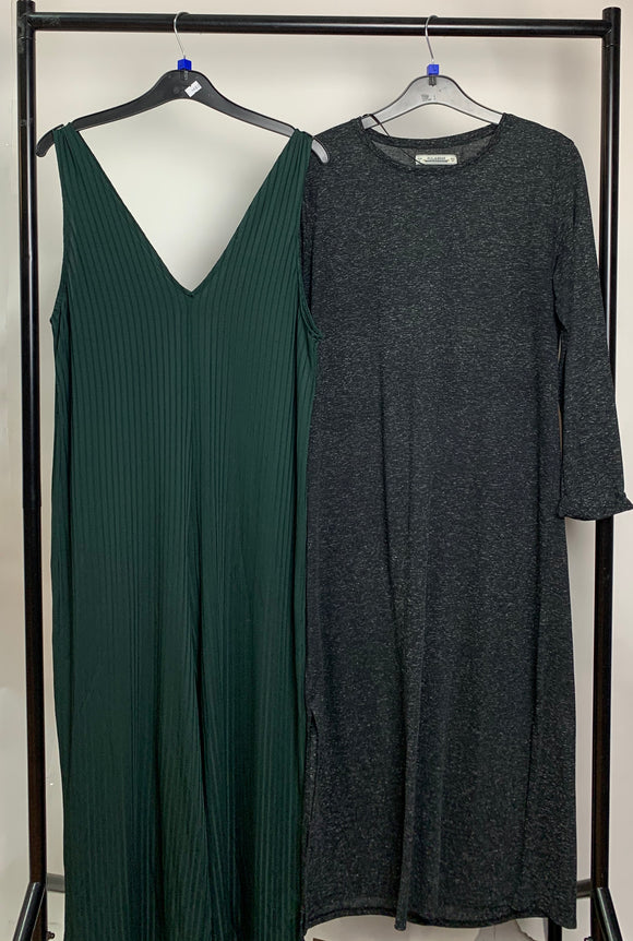 Women's Clothes Bundle 2 Pull & Bear and Zara Dresses Size Large
