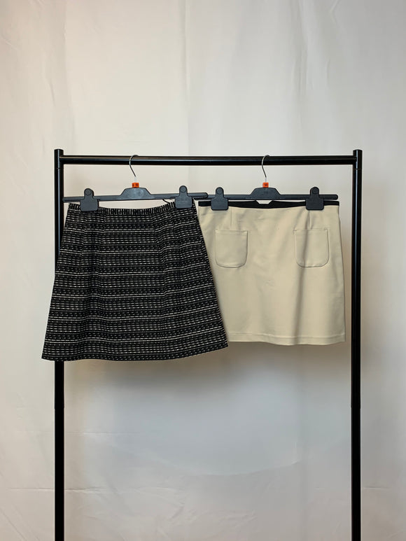Women's Clothes Bundle 2 Mini Skirts Size 10 inc Oasis