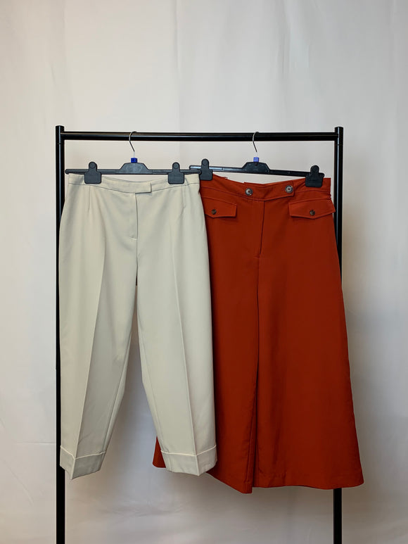 Women's Clothes Bundle 2 Assorted Trousers New Look, M&S Size 14