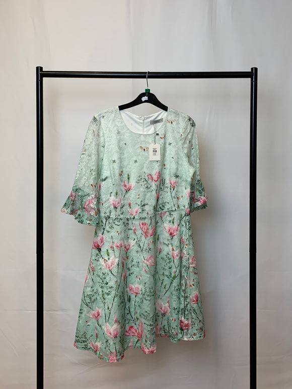 Women's Oasis Floral Mini Dress Size Medium