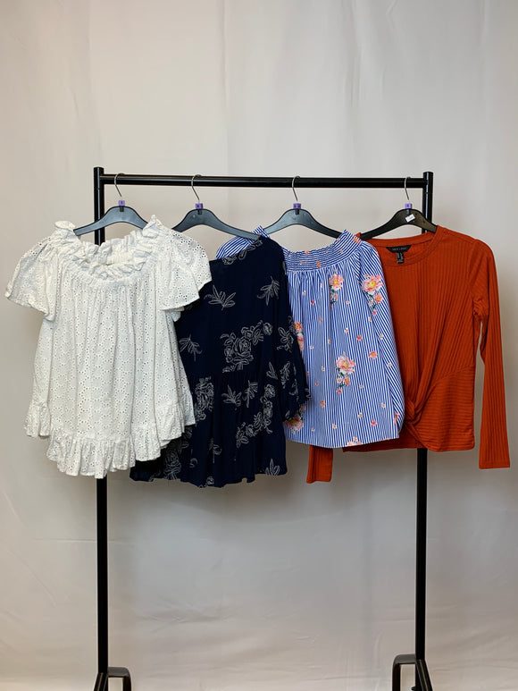 Women's Clothes Bundle 4 Assorted Tops inc. New Look and Apricot Size 8
