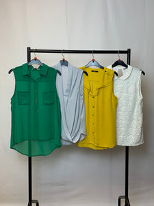 Women's Clothes Bundle 4 Assorted Tops inc Oasis Size 10