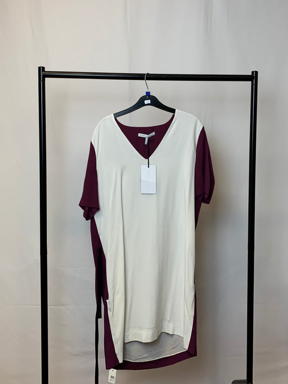 Women's Victoria Beckham Colourblock Dress Size 14