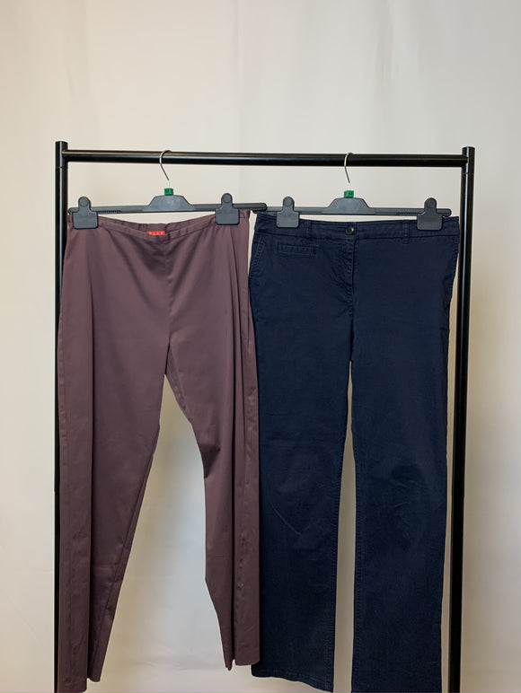 Women's Clothes Bundle 2 Trousers Boden and Elle Size Medium