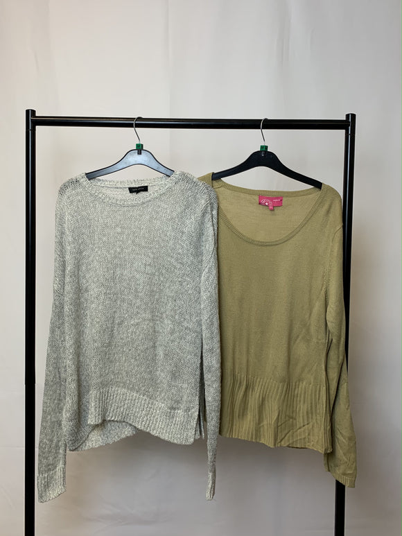 Women's Clothes Bundle 2 Jumpers inc. New Look Size Medium