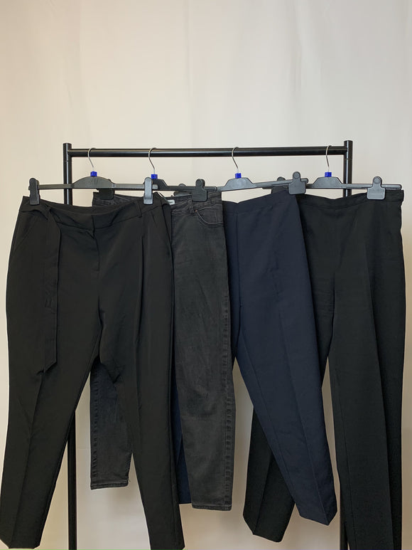 Women's Clothes Bundle 4 Assorted Trousers inc New Look and M&S Size 14