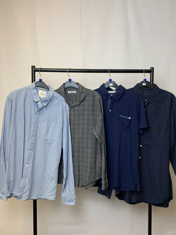 Men's Cothes Bundle 4 Assorted Tops inc Ben Sherman and J Crew Size Large