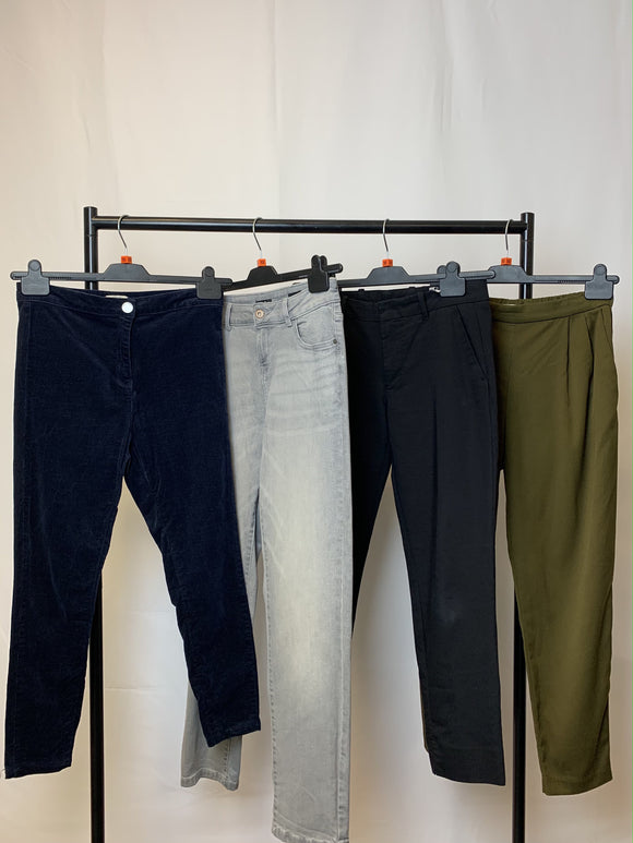 Women's Clothes Bundle 4 Assorted Trousers inc H&M Size 10