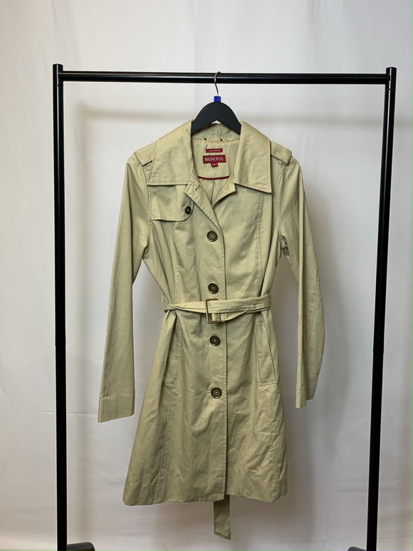 Women's Merona Beige Trench Coat Size Large