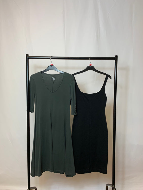 Women's Clothes Bundle Zara and ME + EM 2 Dresses Size Small