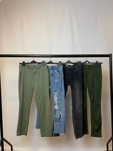 Women's Clothes Bundle 4 Assorted Trousers inc. GAP and Stradivarius Size 6