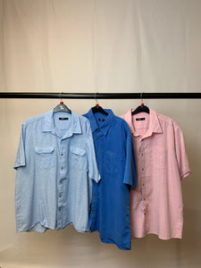 Men's Clothes Bundle 3 Cotton Traders Short Sleeved Shirts Size XL