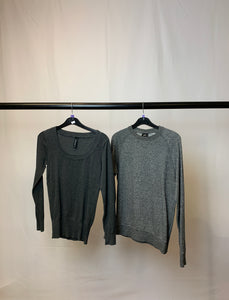 Women's Clothes Bundle 2 Assorted Jumpers inc. H&M Size XS