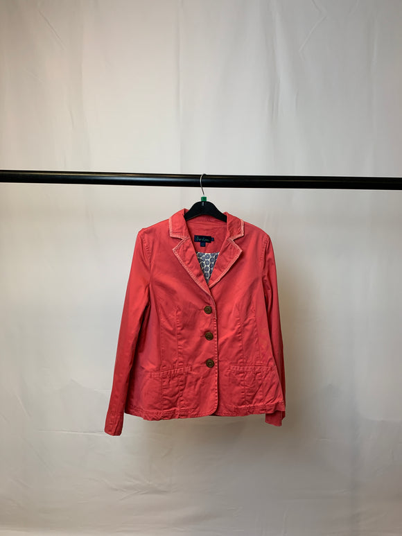 Women's Boden Pink Jacket Size 12