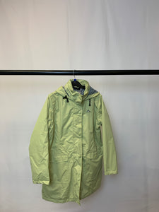Women's Green Anthology Raincoat Size 14