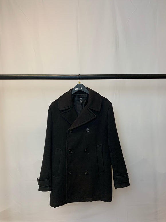 Men's H&M Black Coat Size 40