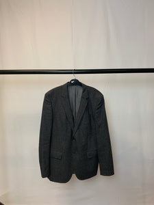 Men's Hugo Boss Grey Wool and Cashmere Blazer Size 44