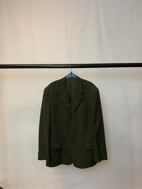 Men's French Connection Green Wool Blazer Size Large