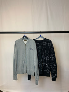 Men's Clothes Bundle 2 Duffer and Zara Jumpers Size Large