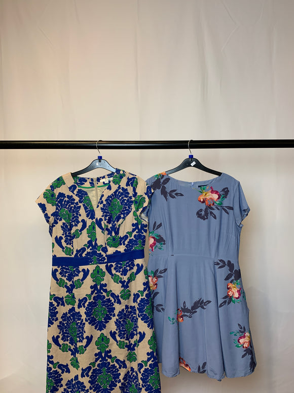 Women's Clothes Bundle 2 Boden and French Connection Dresses Size 14